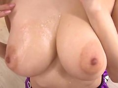 Big breasted Oriental slut in white stockings Julia loves hardcore sex