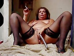 Hot Mature Smoke and Play