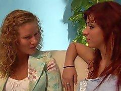 Ultra hot Czech lesbian orgy
