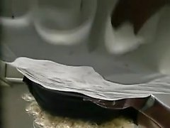 Colleague pile slit at cafeteria