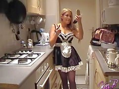 French Maid costume play