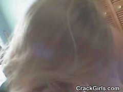 Chubby Blonde Crack Whore Sucking Dick Point Of View