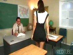 mature teacher fucking her student