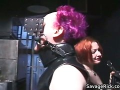 Nasty redhead mistress gets this man
