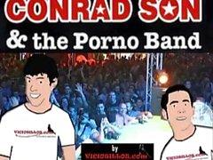 Conrad Son & the Pornoband erotic show with pornstars by Viciosillos