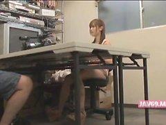 Cute Seductive Japanese Girl Having Sex