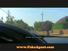 FakeAgent Creampie in the wilderness