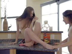 Carolina Sweets Teasing And Licking Melody Wylde