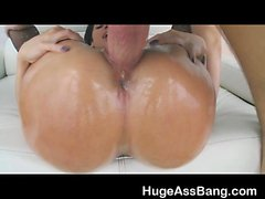 Jada Stevens Huge Ass All Oiled Up And Getting Banged