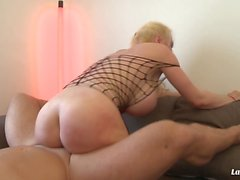 LaNovice - Busty French blonde gets banged in her first porn