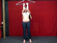 Britt strip tickle challenge