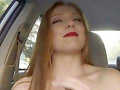 Dumped gf Farrah Flower decides to fuck a stranger in public