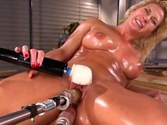 Hot pornstar double penetration and cumshot