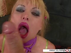 Taylor Wane takes a giant cock in every position