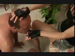 italian hand lick femdom