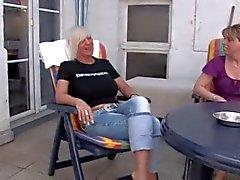 Lesbische volwassen en oma's