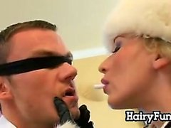 Blonde Russian Babe Double Penetrated
