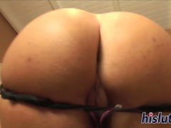 Kinky blonde takes it up her ass