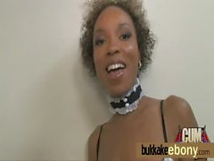 Black MILF ending in a cum shower 6