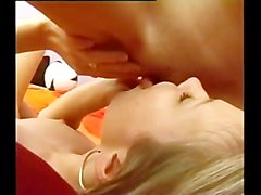 Beautiful lesbian teens threesome