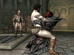 Skyrim Dremora Demon Dick