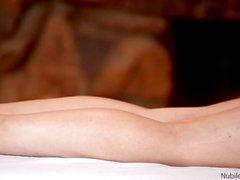 Blonde Samantha Rone Banged