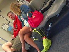 AIRPORT WIFE LEGS - Original Candid