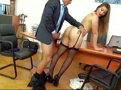 sexy secretary creampie