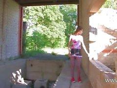 Beautiful Beata girl teasing