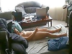 Chubby wife gets fucked on homemade