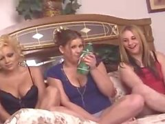 Three Girls Burping