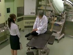 Reluctant Businesslady used by Doctor