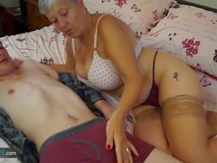 AgedLovE Horny Grannies Hardcore Sex Compilation