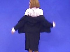 Clara Morgane Virtual Secretary Striptease