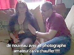 madame chauffe par le photographe