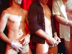 Gay cock contest and the winner can drill