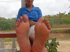 ebony milf soles