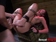 Fetish slut throat fucked