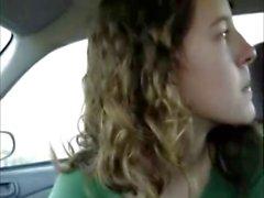 Teen Blows Me In A Car