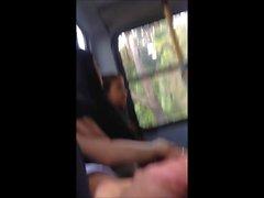 Masturbation in bus 13