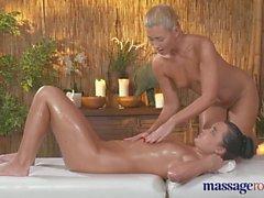Massage Rooms Young lesbians cum hard