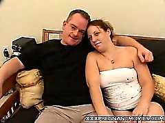 Cute Preggo Belly Tease