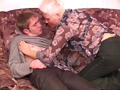 Russian Amateur Mature Mother and Boy