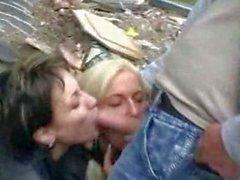 Trashy Wives Fucked In Public