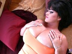 Rachel Aldana Orange Top