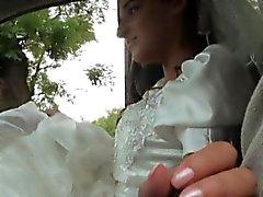 Bride um werden Amirah Adara von ihrem Verlobten engelassen und fickte