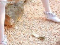 Petite kemikli bebek sıyırma