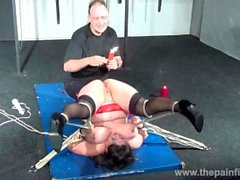 Andreas mature hot waxing nightmare and amateur pussy torture of bbw slaves