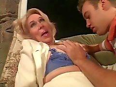 Granny advises and fucks Talk Espanol