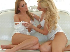 Finger Fun by Sapphic Erotica Melanie Gold and Dominica Fox lesbians